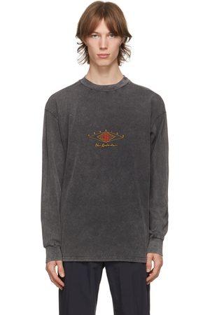 HAN Kjøbenhavn Grey Boxy Long Sleeve T-Shirt