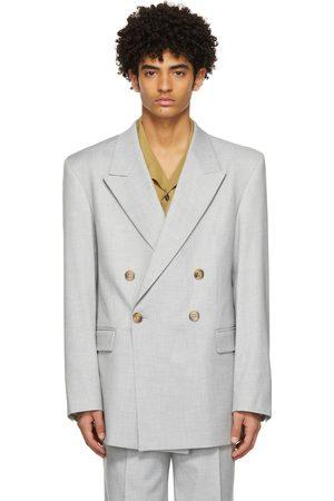 HAN Kjøbenhavn Grey Boxy Suit Blazer