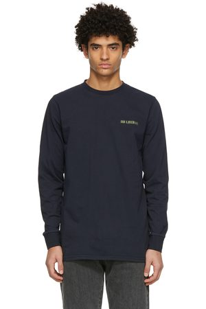 HAN Kjøbenhavn Navy Casual Long Sleeve T-Shirt