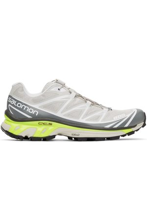 Salomon Men Sneakers - Taupe and Grey XT-6 Advanced Sneakers