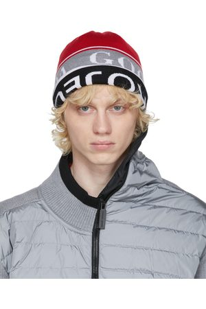 Y / PROJECT Men Beanies - Reversible and Grey Canada Goose Edition Wool Beanie