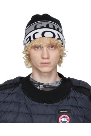 Y / PROJECT Men Beanies - Reversible and Canada Goose Edition Wool Beanie