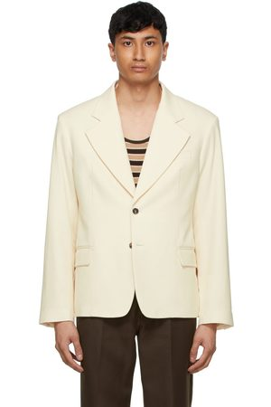 Second/Layer Off- Single-Breasted Blazer