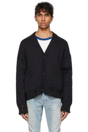 Rhude Men Cardigans - SSENSE Exclusive and Hand Knit Cardigan