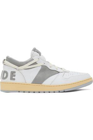 Rhude Men Sneakers - And Grey Rhecess Low Sneakers