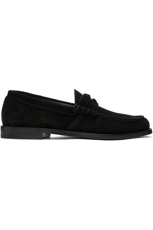 Rhude Men Loafers - Suede Penny Loafers
