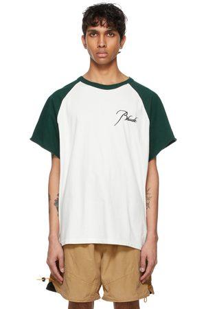 Rhude Men T-shirts - And Raglan Logo T-Shirt