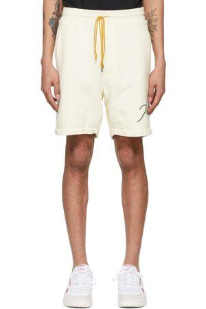 Rhude Off- Logo Sweat Shorts