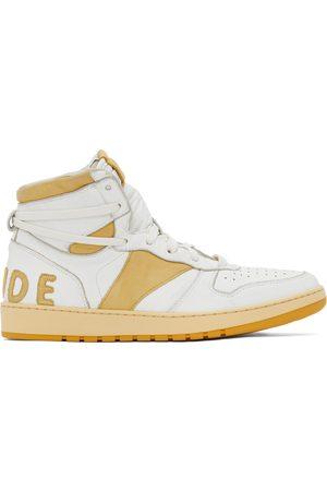 Rhude And Rhecess Hi Sneakers