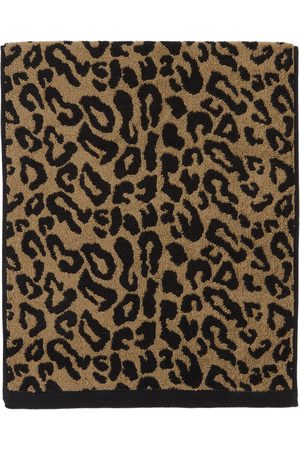 Wacko Maria And Leopard Jacquard Face Towel