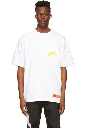 Heron Preston Men T-shirts - Pocket Style T-Shirt