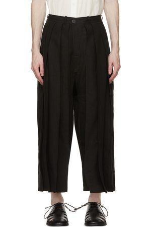 JAN JAN VAN ESSCHE Linen Loose Fit Trousers