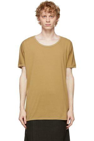 JAN JAN VAN ESSCHE Khaki Regular Fit 66 T-Shirt
