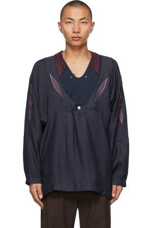 Kiko Kostadinov Navy Arcadia Shirt
