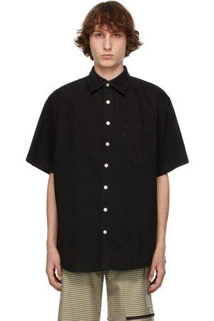 Schnaydermans Denim Oversized Short Sleeve Shirt
