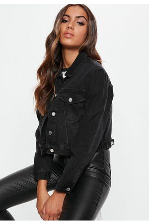 Missguided Tall Cropped Boxy Denim Jacket