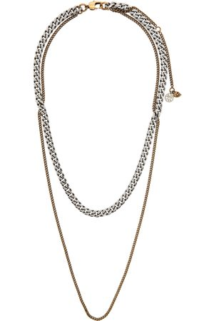 Alexander McQueen And Double Chain Layer Necklace
