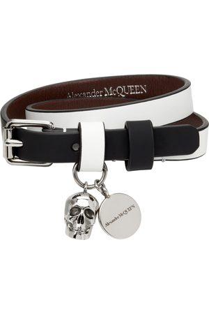 Alexander McQueen And Coated Double Wrap Bracelet