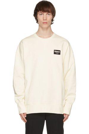 Alexander McQueen Off- Graffiti Badge Sweatshirt