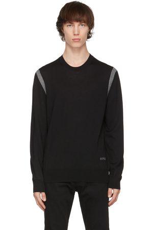 Alexander McQueen And Grey Wool Stripe Sweater