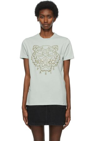Kenzo Women T-shirts - And Loose Printed Tiger T-Shirt