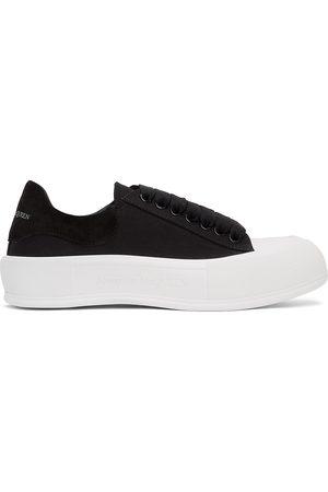 Alexander McQueen Men Sneakers - And Deck Plimsoll Sneakers
