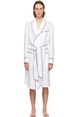 Paul Stuart Cotton Herringbone Robe