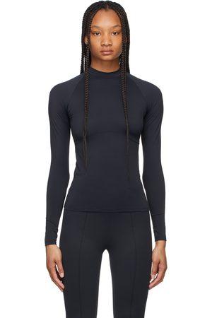 Norba Women Sports Tops - Velour Long Sleeve Sport Top
