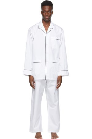 Paul Stuart Cotton Broadcloth Pyjama Set
