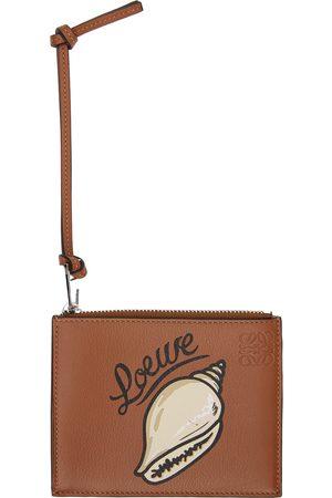 Loewe Tan Shell Card Holder