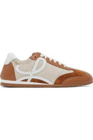 Loewe Women Sneakers - And Tan Ballet Runner Sneakers