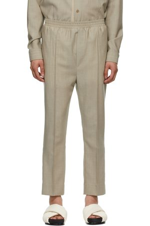 TOM WOOD SSENSE Exclusive Wool Elastic Trousers