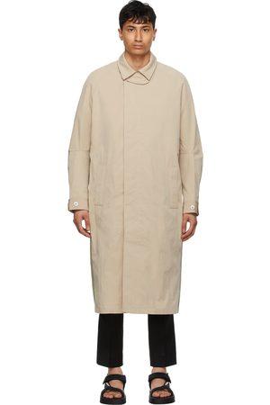 TOM WOOD And Khaki Mac Coat