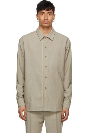TOM WOOD SSENSE Exclusive Wool Overshirt