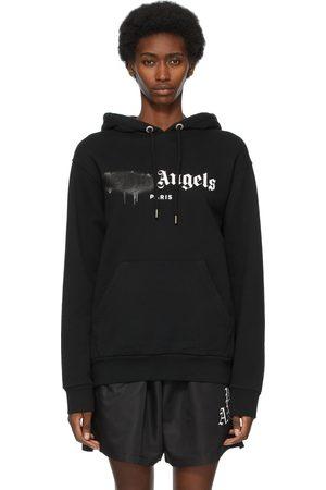 Palm Angels Paris Sprayed Logo Hoodie