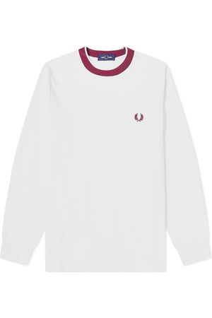 Fred Perry Men Long Sleeve - Long Sleeve Crepe Jersey Tee