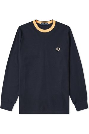 Fred Perry Long Sleeve Crepe Jersey Tee