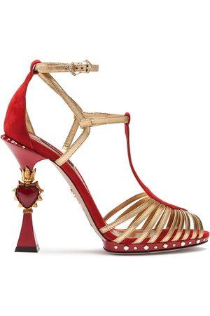 Dolce & Gabbana Sculpted-heel Bette sandals