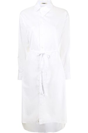 YOHJI YAMAMOTO Asymmetric-collar shirt dress