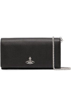 Vivienne Westwood Jordan long-chain leather purse