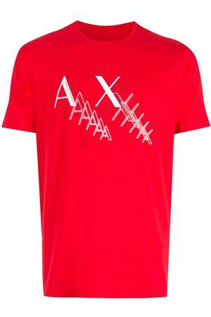 Armani Chest-logo crewneck T-shirt