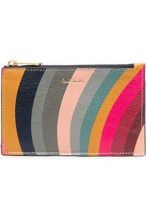 Paul Smith Swirl zipped leather wallet