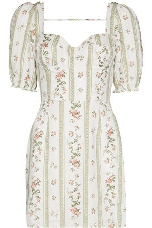 Reformation Spring floral-print minidress
