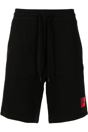 HUGO BOSS Men Sports Shorts - Logo patch track shorts