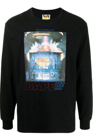 A Bathing Ape World Gone Mad sweatshirt
