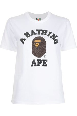 A Bathing Ape Logo-print cotton T-shirt