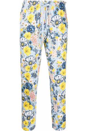 Viktor & Rolf Floral-print trousers
