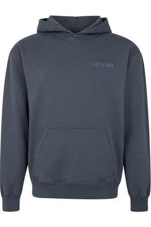 Stadium Goods Eco logo-embroidered hoodie - Grey