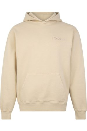 Stadium Goods Eco logo-embroidered hoodie - Neutrals