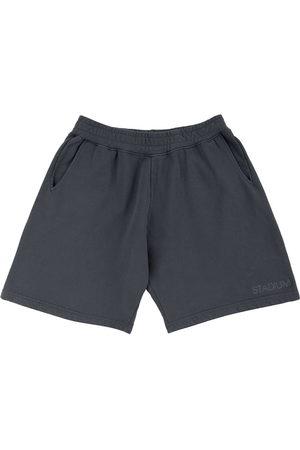 Stadium Goods Eco logo-embroidered track shorts - Grey